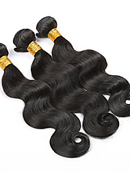 "Grade 4A 10""-28"" 100g/Lot Brazilian Virgin Human Hair Extension Body Wave Machine Weaving Hair Mega Hair Cabelo Natural"