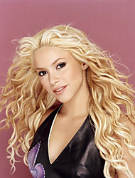 Fascinating Long Wave Virgin Remy Human Hair Lace Front Wig