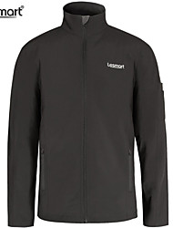Lesmart Men's Windproof Water-resistant Softshell Warm Fleece Outdoors Skiing Sport Lightweight Jacket Work Outerwear