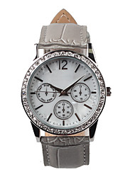 Beautiful Grey Belt Women's Watch Cool Watches Unique Watches