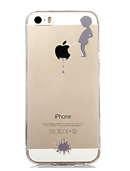 Para Funda iPhone 7 / Funda iPhone 7 Plus / Funda iPhone 6 / Funda iPhone 6 Plus / Funda iPhone 5 Transparente / Diseños FundaCubierta