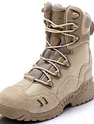 Men's Shoes Outdoor / Office & Career / Work & Duty / Athletic / Casual Suede / Canvas Boots Black / Beige