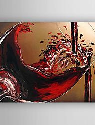 Peint à la main Nature morteModern Un Panneau Toile Peinture à l'huile Hang-peint For Décoration d'intérieur