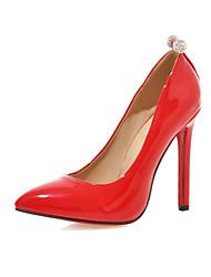 Черный / Розовый / Красный - Женская обувь - На каждый день - Дерматин - На шпильке - На каблуках - Обувь на каблуках