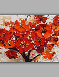 Knife Flower Painting on Canvas 2016 New Design for Living House