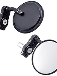2pcs Black Motorcycle Bar End Mirrors handlebars Glass mirror for All Suzuki Honda Kawasaki Yamaha