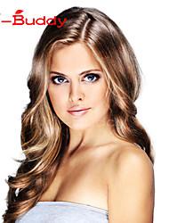 Human hair  lace wigs for  women Brazilian virgin hair Wavyhuman hair color(#1 #1B #2 #4)
