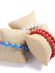 Linen pillow small pillow hand string bracelet watch display showcase jewelry display channel