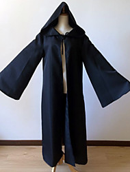 Star Battle Hooded Robe Cloak Knight Cosplay Costumes  Super Heroes / Soldier/Warrior / Movie/TV Theme Costumes Movie Cosplay Brown / Black Cloak