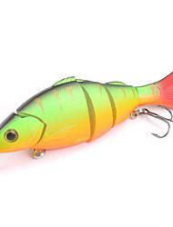 Mizugiwa Jointed Life-like Swimbait Hard Fishing Bass Bait Suspend Lure 21g 120mm Color Green
