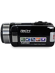 "RICH® HD-1000 HD 1080P Pixels 13 Mega Pixels 16X zoom 3""LCD Screen Full HD Digital Camera Camcorder"