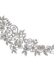 Large Hairpins Flower Hair Combs Rhinestone Crystals Hair Clips Bridal Wedding Hair Jewelry