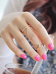 New Arrival Fashional Popular Rhinestone Peace Ring