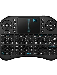 rii i8 mini 2.4GHz tastiera touchpad wireless con il mouse per il PC, Google Android TV Box, HTPC, IPTV
