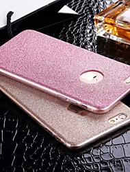 Назначение iPhone X iPhone 8 iPhone 6 iPhone 6 Plus Чехлы панели Движущаяся жидкость С узором Задняя крышка Кейс для Сплошной цвет Мягкий