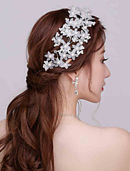 Imitation Pearl / Plastic Headpiece - Wedding / Special Occasion Headbands / Flowers