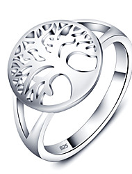 925 Sterling Silver Women Jewelry High Quality Lucky Tree Ring Perfect Gift For Girls