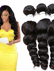 Hair Products Brazilian Loose Deep Curly Human Hair Weave Bundles