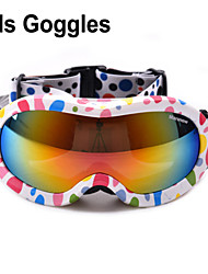 Marsnow Professional 8-15 Years Old Children's Ski Goggles Double Anti-Fog Kids Skiing Goggles Girl Boy Snowboard M0050