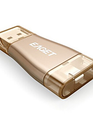 EAGET I50 OTG 32G Lightning to USB Storage USB3.0 MFI PHONE(Large Flash Pen USB Drives High Speed Keys Phone)