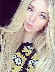 Blonde Human Hair Wig Brazilian Virgin Full Lace Human Hair Wigs Blonde Straight Hair Lace Front Wigs for Women 613#