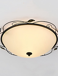 32CM Europe Type Style Rural Classical Absorb Dome Light LED Lamp