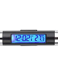 heißen Auto-LCD-Digital-Hintergrundbeleuchtung Automobilthermometer Taktgeber Kalender