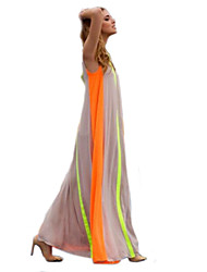 Women's Sexy Beach Casual Party Sleeveless Maxi Dress