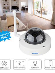 Szsinocam®MINI  Dome 2.0MP 25M IR Distance WIFI IP Camera Support APP Remote Access,Motion Detection