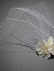 Women's Fabric Headpiece - Wedding / Outdoor Fascinators / Birdcage Veils 1 Piece