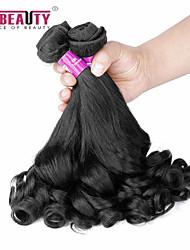 """4 PC / Los 14 """"-22"""" 7a peruanische reine Haarbirnenblume Menschenhaareinschlagfäden 100% unverarbeitetes peruanisches remy Haar spinnt"""