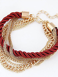 Fashion Jewelry Multilayer Chain Bracelet