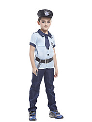 Boys Police Costume Kids Costumes Set