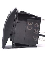 iztoss laser 5pin fendinebbia interruttore on-off ha condotto la luce 20a 12v blu con fili da installare