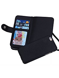 Special Design High quality Genuine Leather Wallet Case Full Body Cases with Stand for iPhone 6 Plus
