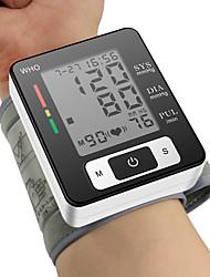 ck®ome pressão arterial manguito monitor de pulso pulso metros visor LCD esfigmomanômetro automático de pulso digital