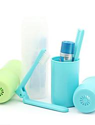 Travel Protector/Envase de Viaje para Cepillo de Dientes Aseo Personal Plástico BirdRoom®