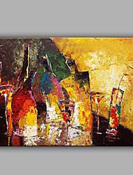 Stilllebenmalerei mit bunten handgefertigten Design