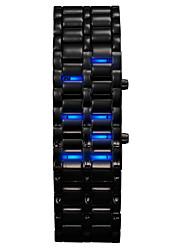 Creative LED Watch Binary System Display Waterproof Wrist Watch Cool Watch Unique Watch