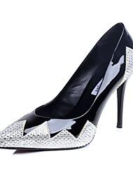 Women's Wedding Shoes Heels / Square Toe Heels Wedding / Dress Black