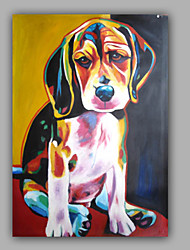 Cute Animal Oil Painting Dog painting