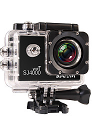 SJCAM SJ4000 WIFI Sports Action Camera 12MP / 8MP / 2MP / 3MP / 5MP 1920 x 1080 WiFi / Waterproof 4x ±2EV 1.5 CMOS 32 GB H.264 30 M