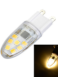 3W G9 Luces LED de Doble Pin Luces Empotradas 14 SMD 2835 100-200 lm Blanco Cálido / Blanco Fresco Regulable AC 100-240 V 1 pieza
