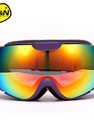 NANDN Unisex Skiing Eyewear Ski Glasses Goggles Double Layer Snowboard Goggles Men Women Snow Glasses Ski Googles NH8003