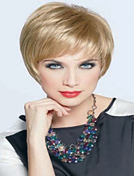 nouvelle arrivée blond charmant perruque courte syntheic