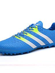 Zapatos Fútbol Microfibra Negro / Azul / Rojo Hombre