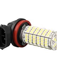 alto potere automobile h11 lampadina del faro fendinebbia 3528smd bianco 120 LED si illumina 12v 800lm 5000-6000k