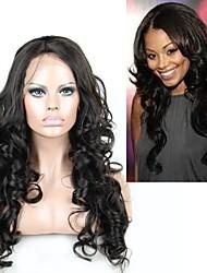 Fashion Styles 150% Hair Density Brazilian Virgin Hair Lace Wigs for Black Women