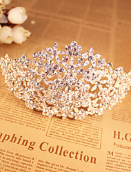 Women's Rhinestone / Alloy Headpiece-Wedding / Special Occasion Tiaras 1 Piece