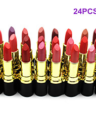 Lipstick Dry Balm Coloured gloss / Long Lasting / Natural Multi-color 24